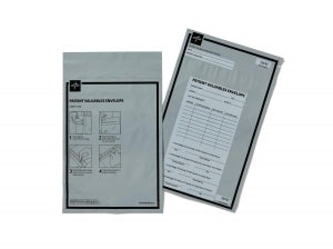 "Medline Patient Valuables Bag - Patient Valuables Bag, 2.8 MIL, 9.25"" x 14.5"" - DYNDPVE912"