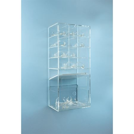 "Deluxe Eye Glass Holder 12 Place - 10.5""W x 7""D x 23.5""H"