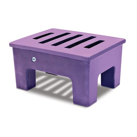 "Antibacterial Dunnage Rack 18""W x 22""D x 12""H"