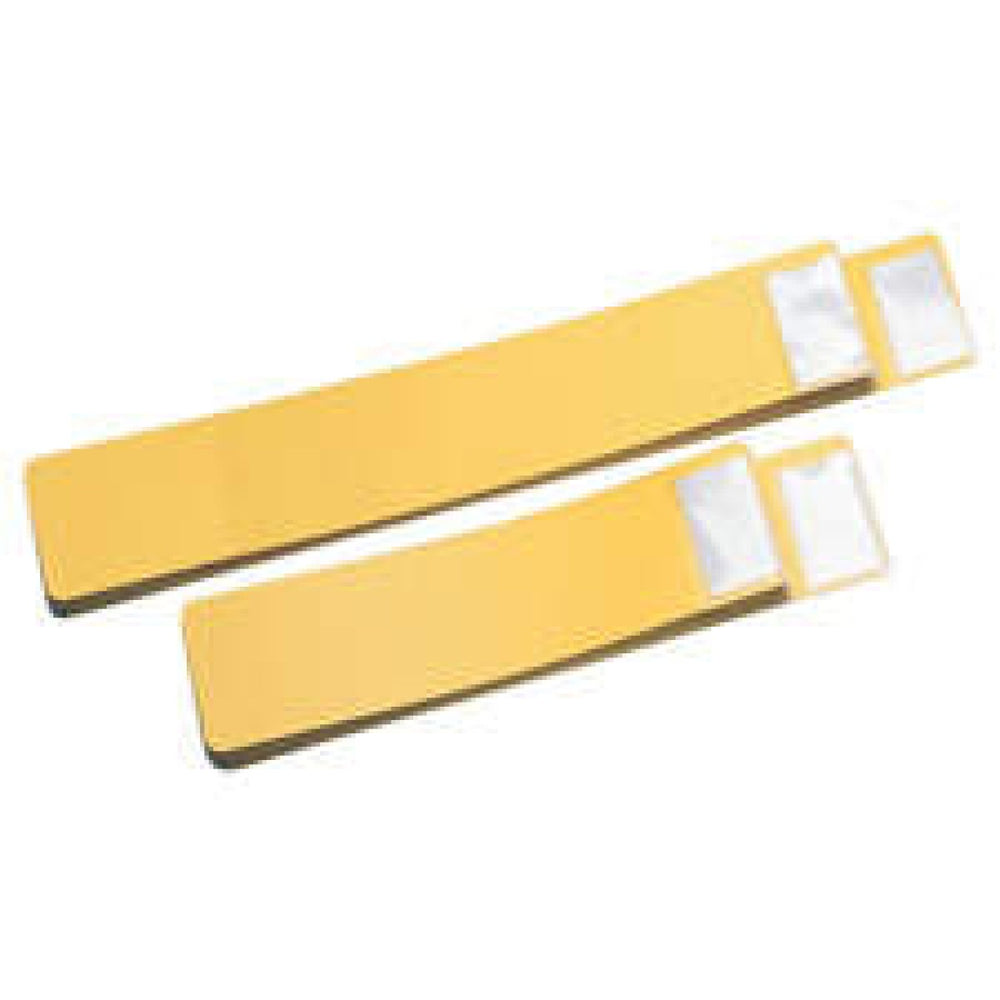 "Color: Yellow Dimensions: 14 1/2"" X 4"" 25/Set"