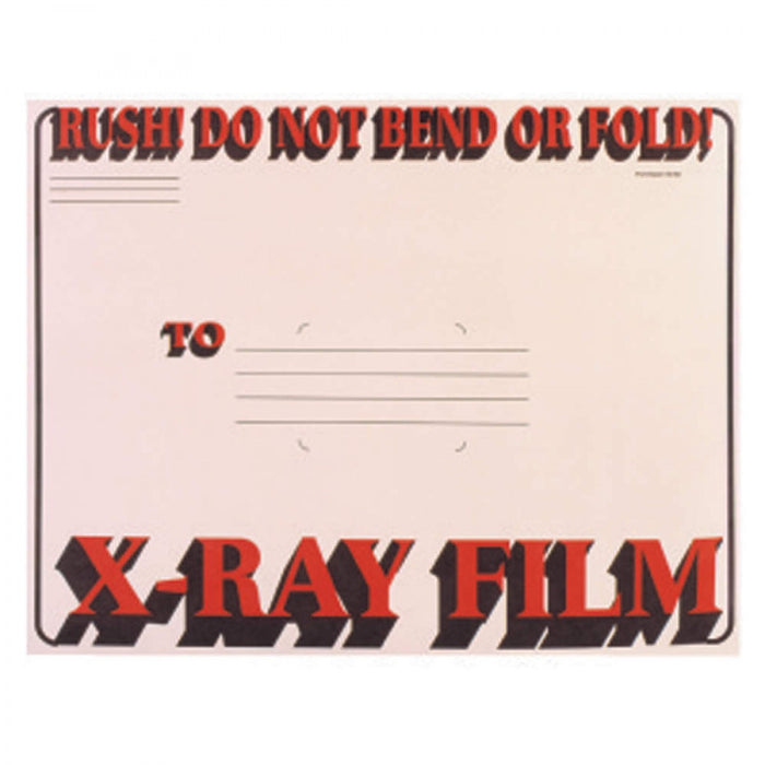 "X-Ray Film Mailer String & Button Open End W/ Red And Black Print Material: 11Pt Manila Dimensions: 11"" X 13"" 50 / Case"