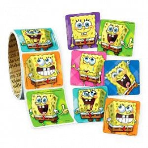 Medibadge Spongebob Stickers - SpongeBob Faces Stickers - VL124