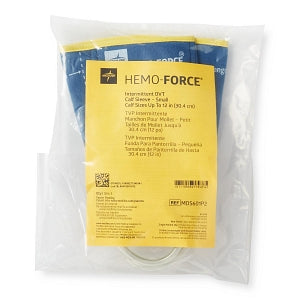 "Medline Hemo-Force II Intermittent Single-Bladder DVT Sleeves - Small Short Intermittent Hemo-Force II DVT Calf Sleeve with Circumference of 9""- 12"" (22.9 cm - 30.5 cm) - MDS601P2"