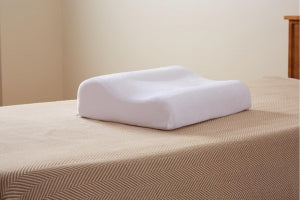 Carpenter Co Contour Memory Foam Pillow - PILLOW, PEACEFUL DREAMS, 15X20, WHT, 4EA / CS - 031374530770