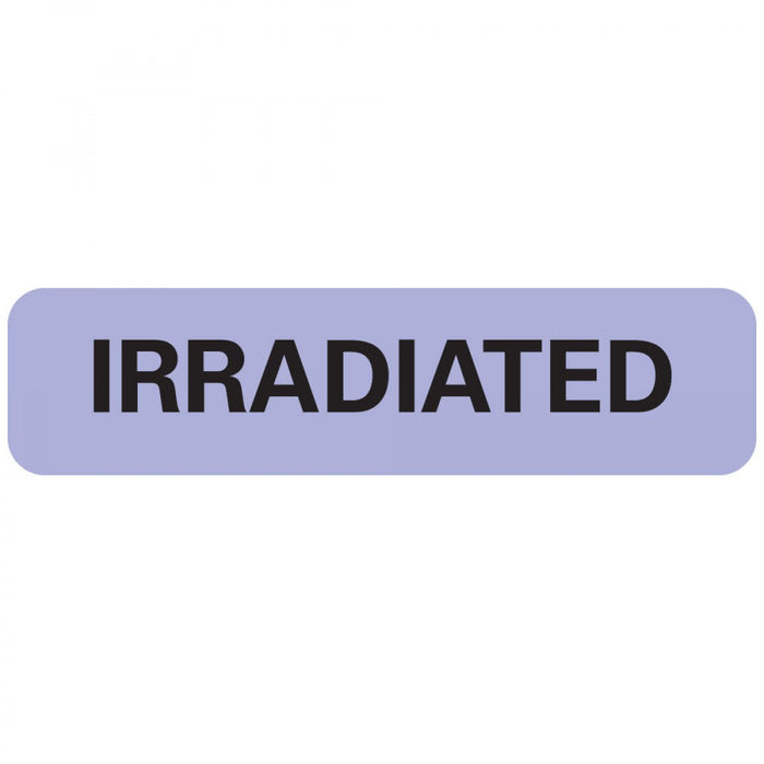 "Label Paper Removable Irradiated 1"" Core 1 1/4"" X 5/16"" Lavender 760 Per Roll"