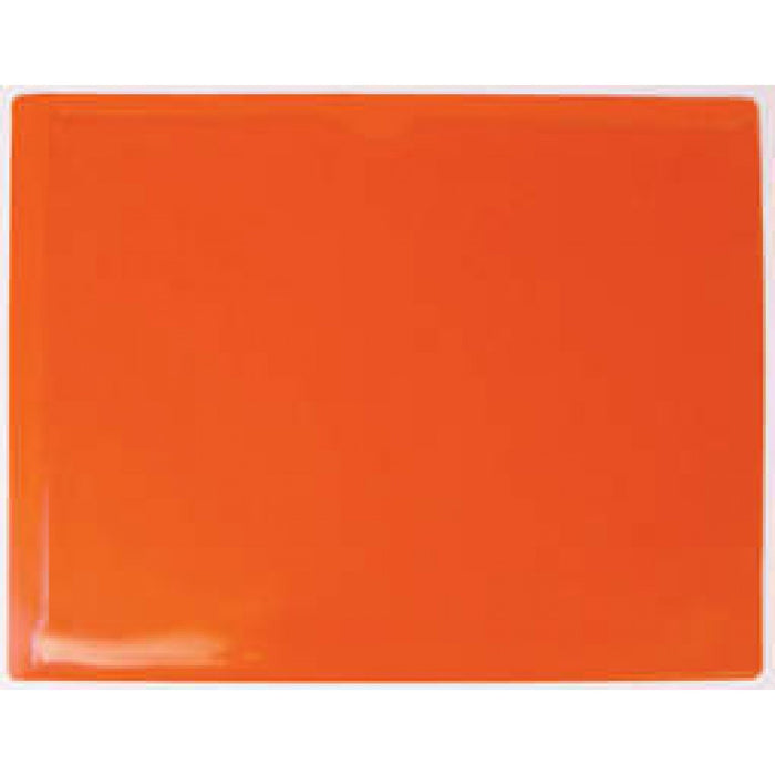 Material: Vinyl Color: Orange 25/Pack