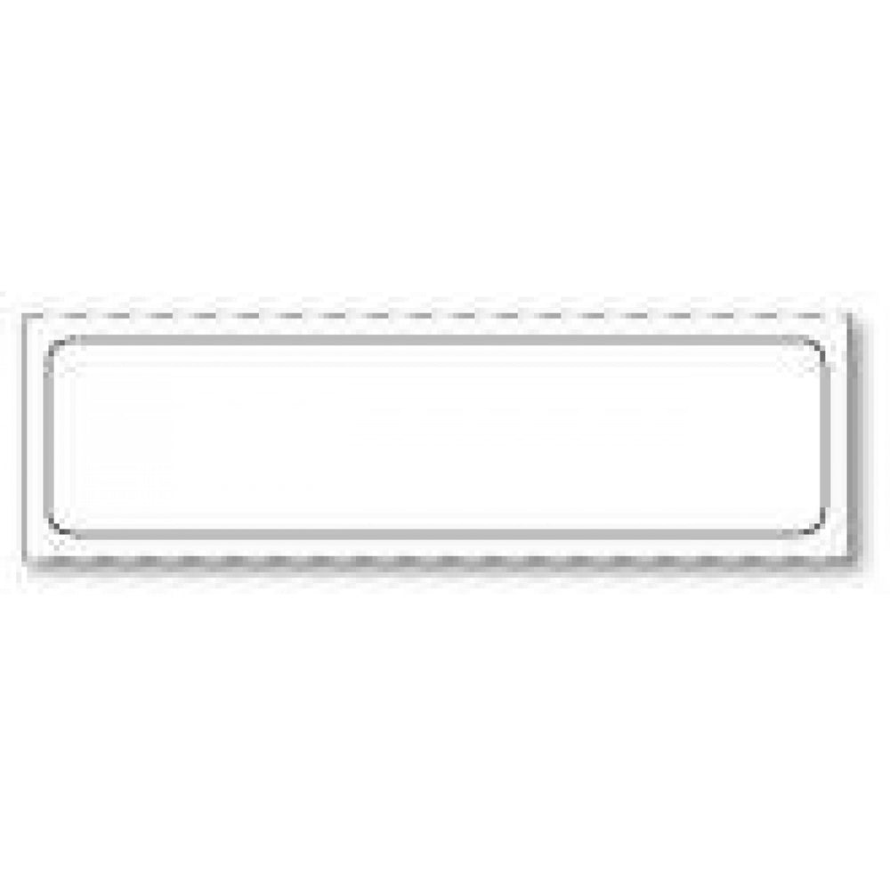 "Label Paper Removable 1"" Core 2"" X 1/2"" White 1000 Per Roll"
