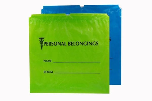 Patient Belongings Bags, Personal