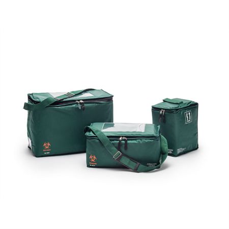 "Transport Tote Green Large - 18""W x 9""D x 13""H"