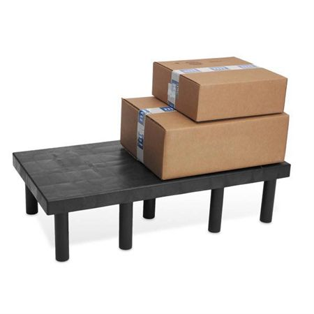 "Solid-Top Dunnage-Rack 48""L x 24""W - 1500lb weight capacity"