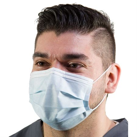 Earloop Mask Procedure - Blue