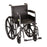 Fixed Arms Wheelchair And Footrests