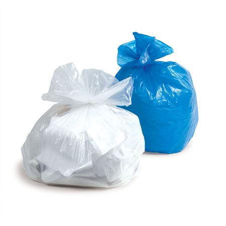 "Waste Bags 20-30 Gal - 30 ""x 36"" - 0.65mil - Clear"