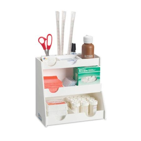 "Workstation 14-Bin Organizer Workstation 14-Bin Organizer - 12""W x 6.7""D x 12""H"