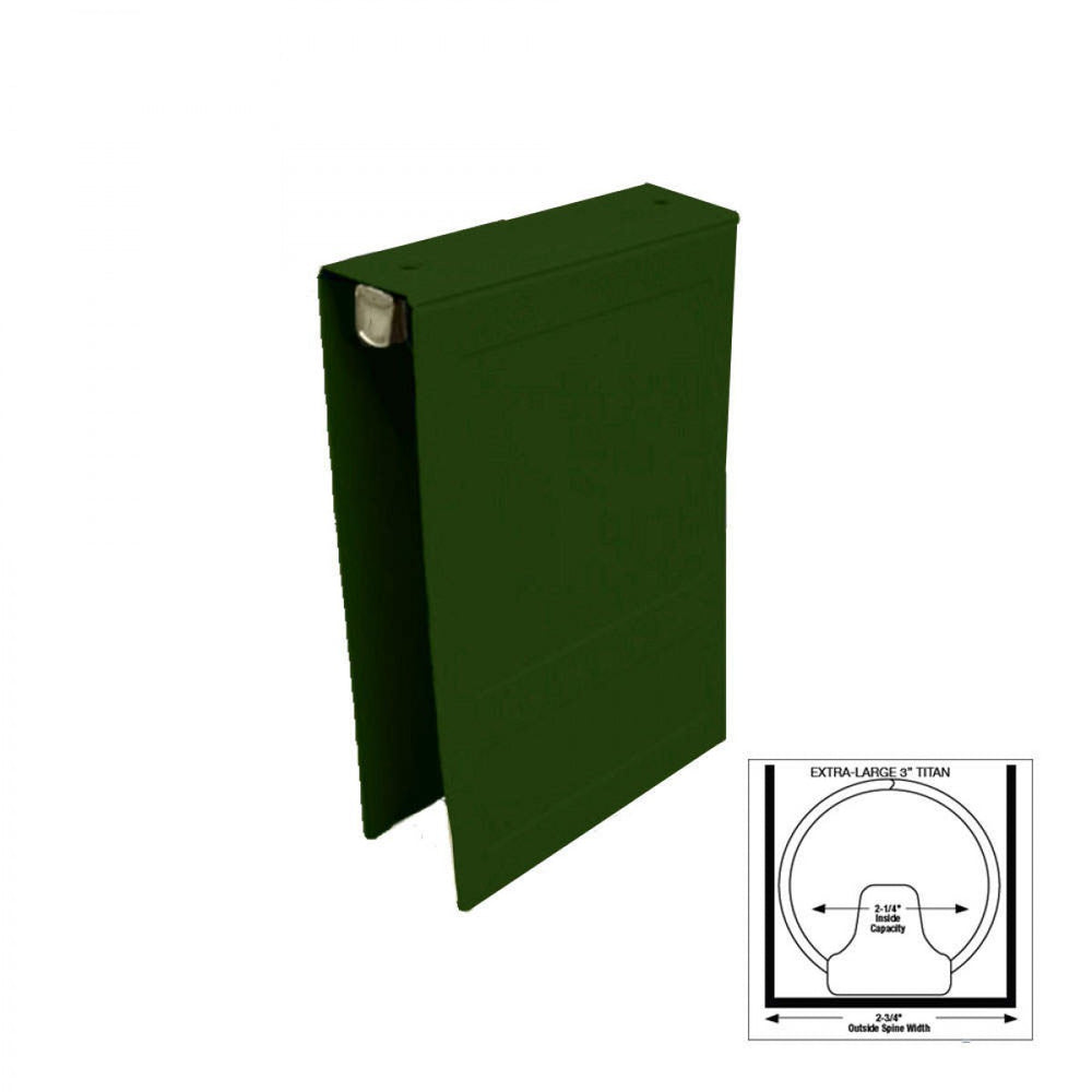 "Poly Binder Side-Open 3"" 1/Each"