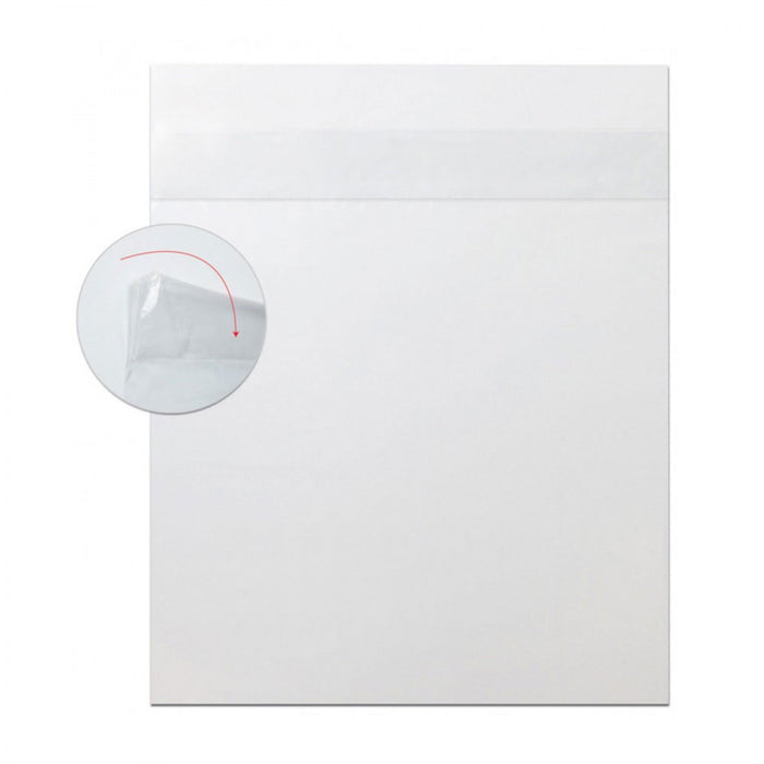 "Safe-D-Covers Disposable Cassette Cover Overlock Fits 14""X17"" Easy-Slide - 100 Per Box"