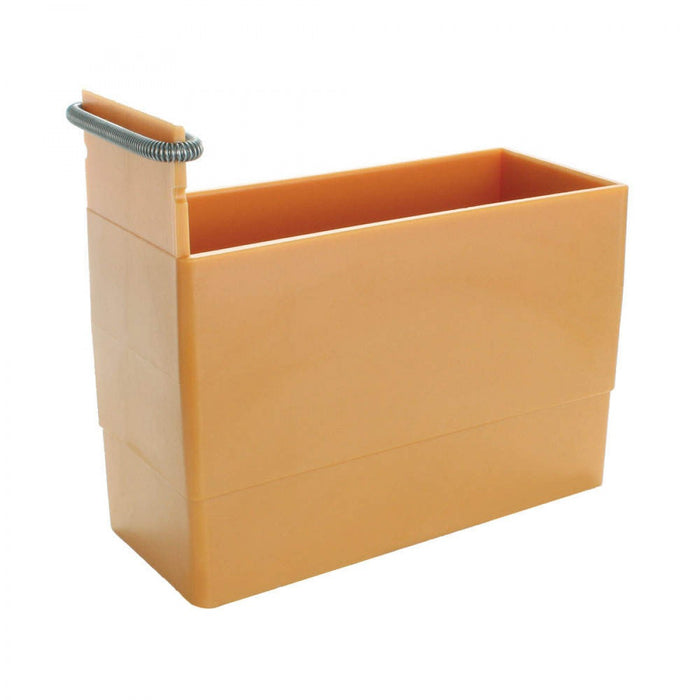 Dispenser Holds Labels Up To 1-3/4 Wide Plastic 5 X 2-1/8 X 4-1/2 Maple 1 Per Each