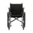 Wheelchair with Full Arms And Footrests
