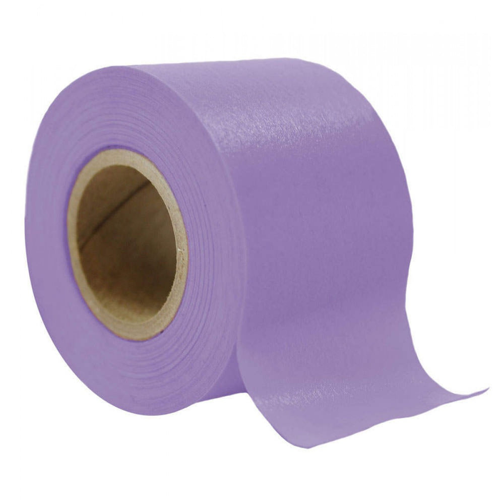 "Timetape Tape Removable 3"" Core 1 1/2"" X 2160"" Imprints Lavender 2160 Inches Per Roll"