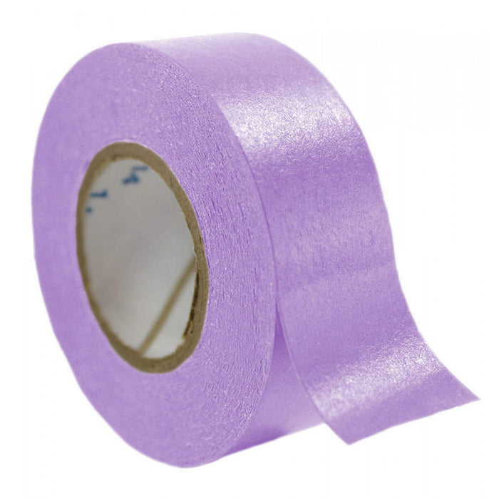 "Timetape Tape Removable 3"" Core 3/4"" X 2160"" Imprints Lavender 2160 Inches Per Roll"