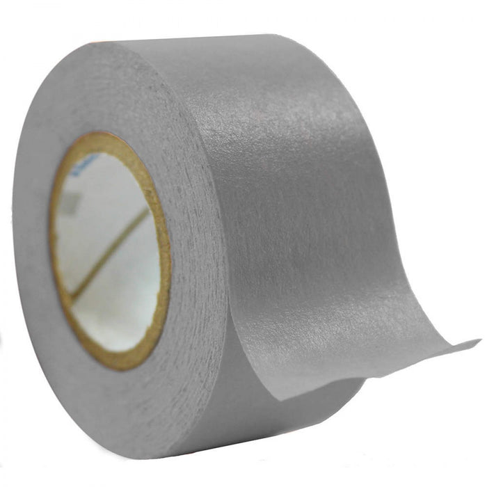 "Timetape Tape Removable 1"" Core 1 X 500"" Imprints Gray 500 Inches Per Roll"