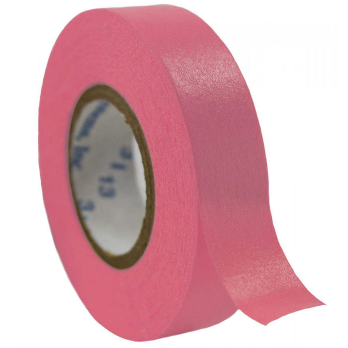 "Timetape Tape Removable 1"" Core 1/2"" X 500"" Imprints Rose 500 Inches Per Roll"