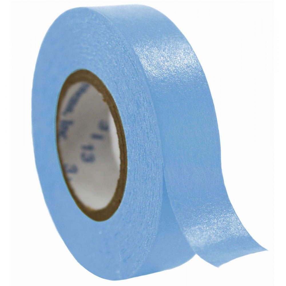 "Timetape Tape Removable 1"" Core 1/2"" X 500"" Imprints Blue 500 Inches Per Roll"