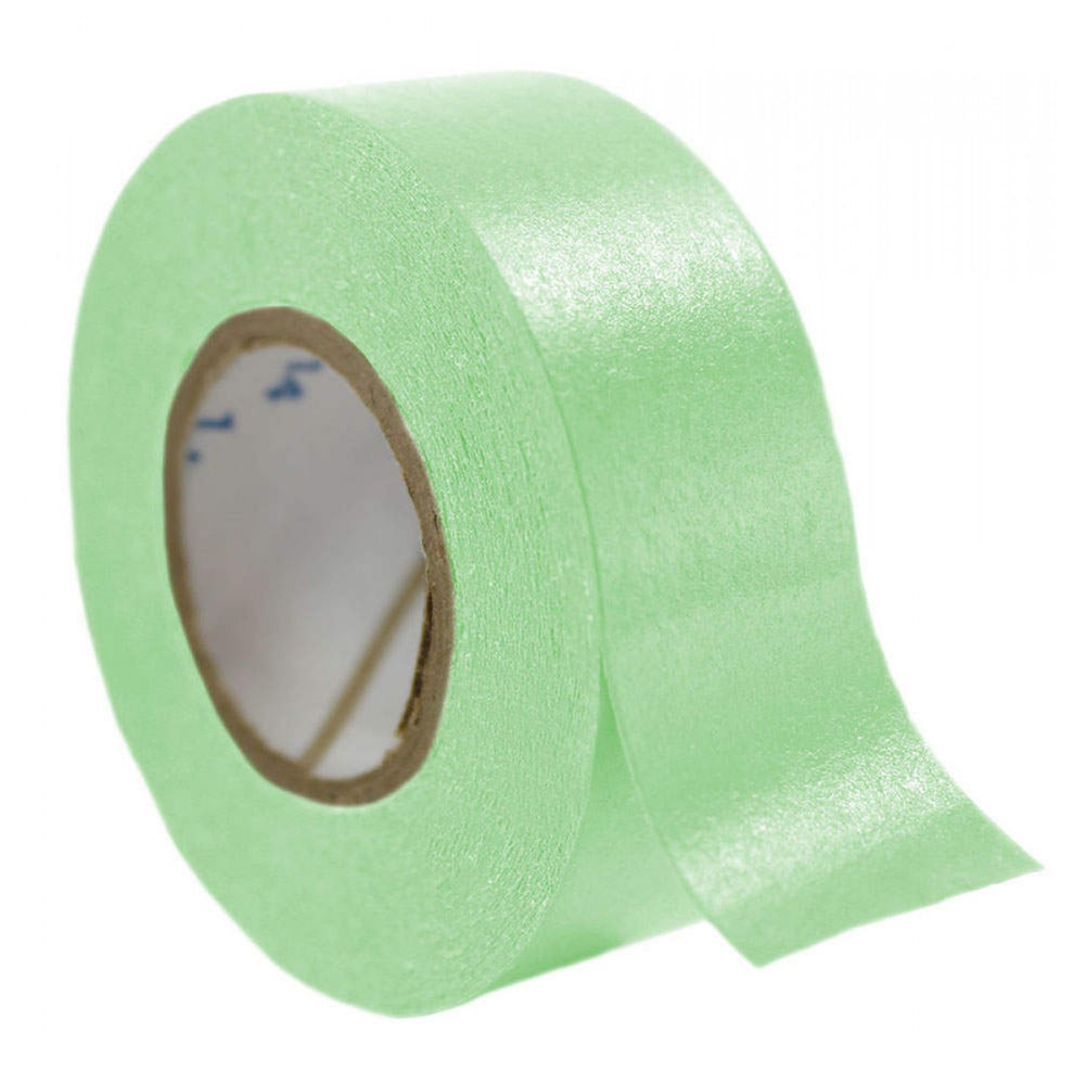 "Timetape Tape Removable 1"" Core 3/4"" X 500"" Imprints Lime Green 500 Inches Per Roll"