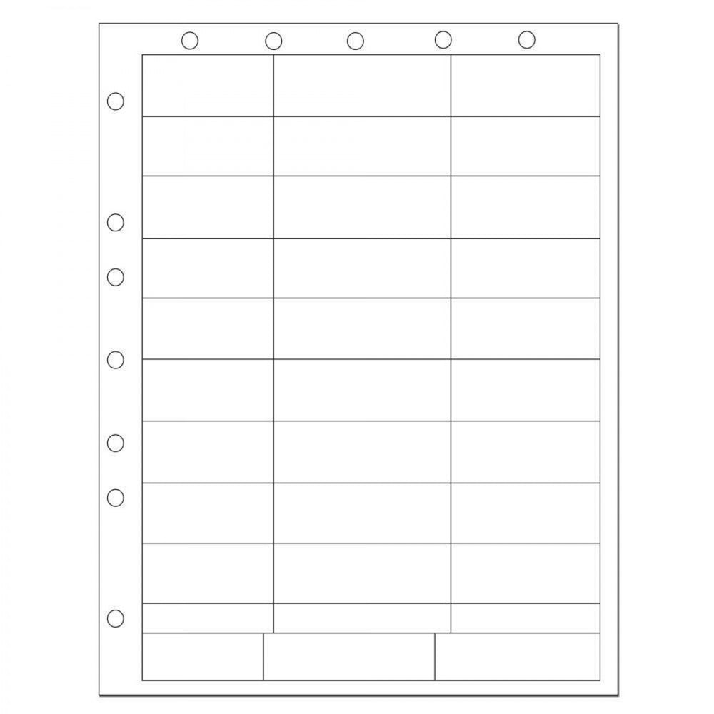 Chart Labels Laser Portrait, Premium, With Holes, Multiple Size Labels X White - 33 Lbls Per Sheet, 4 Pks Of 250 Sheets Per Case