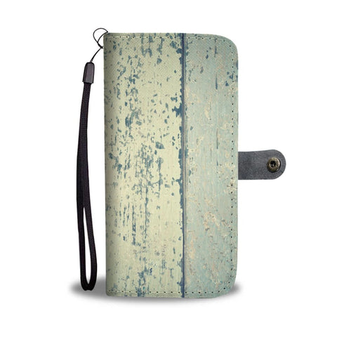 Awesome Artistic Wallet Case #1 - Wooden Board - Wallet Case