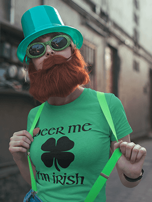 Beer Me I'm Irish Premium Unisex T-Shirt