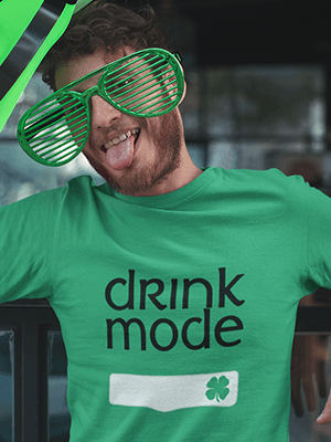 Drink Mode Premium Unisex T-Shirt