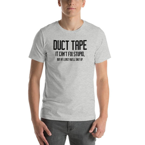 Duct Tape Unisex T-Shirt - Athletic Heather / S