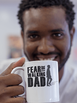 Fear The Walking Dad Mug