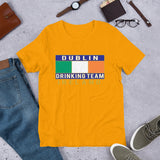 Dublin Drinking Team Flag Premium Unisex T-Shirt