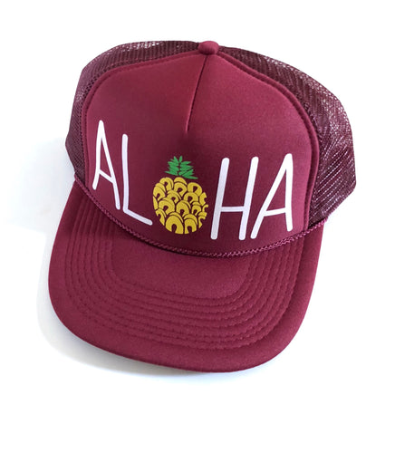 Aloha Screen Burgundy