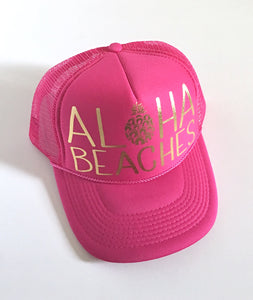 Aloha Beaches Hot Pink