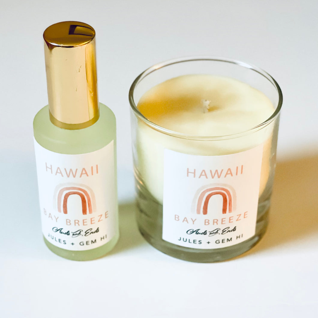 Gift Set HI Bay Breeze Candle