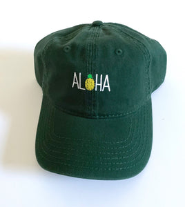 Aloha Dad Hat Evergreen