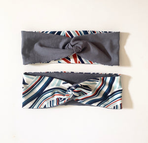 Headband Twist Reversible