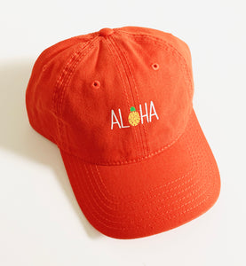 Aloha Dad hat Orange