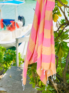 The Queen's Stripe Turkish Towel