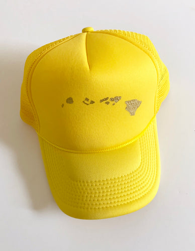 Island Trucker Yellow