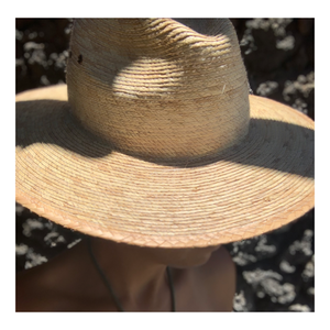 Straw Cruz Hat