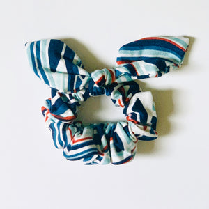 Bow Scrunchie Rising Tides