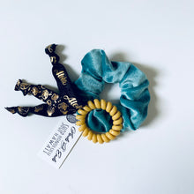 Scrunchie Set Assorted Blue