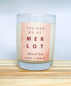 Happy Hour Candle Merlot