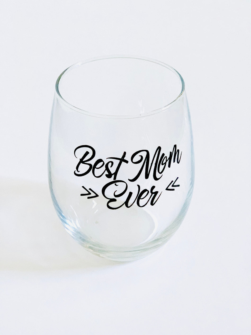 Happy Hour Glass Best Mom Ever