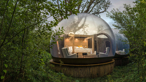 CRANN SUSTAINABLE PLACES TO STAY IRELAND GLAMPING