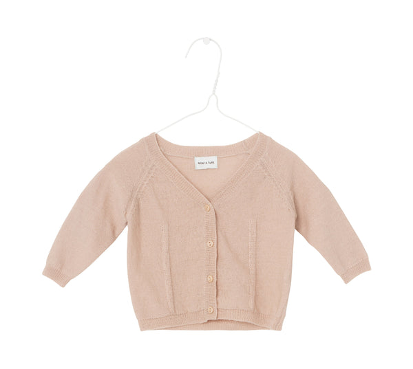 Beline Cardigan Baby - Rose Dust